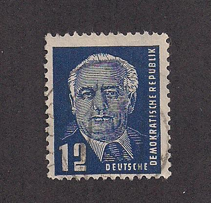 GERMANY - DDR SC# 54 F-VF U 1950