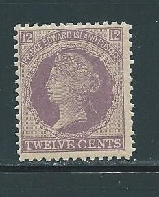 Prince Edward Island 16 12c Victoria single MNH