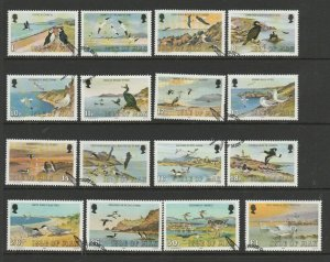 Isle of Man 1983 Defs, Birds portion to £1 VFU/CTO SG 232/47
