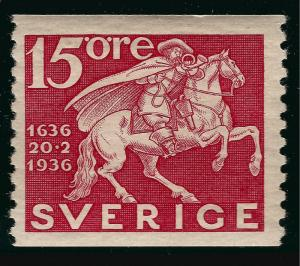 Sweden SC #253  Mint VF SCV $3.25 Very Nice!