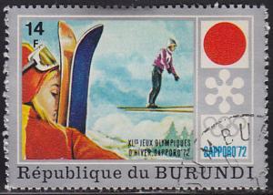Burundi 388 XI Winter Olympic Games, Sapporo 1972