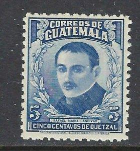 Guatemala 308 MNH 1943 issue (ap3881)