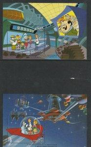 St. Vincent MNH 2-S/S Jetson Cartoons 1991
