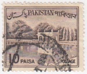 Pakistan, Sc 134, Used, 1961, Shalimar Gardens
