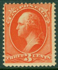 EDW1949SELL : USA 1887 Scott #214 Mint Original Gum Lightly Hinged. Catalog $60.