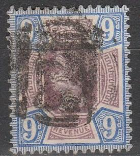 Great Britain #120 F-VF Used CV $45.00  (A2998)