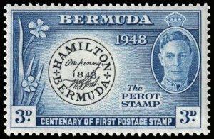 Bermuda - Scott 136 - Mint-Hinged