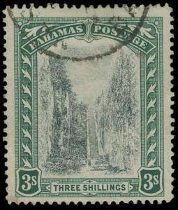 Bahamas Scott 36 Variety Gibbons 61y Used Stamp