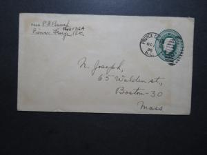 Canada 1928 Prince George BC Stationery Cover to USA - Z10602