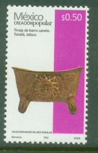 MEXICO 2488a, $0.50P HANDCRAFTS 2006 ISSUE. MINT, NH. F-VF.