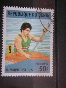 BENIN, 1996, used 50f, Scott 858, Olymphilex