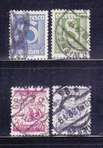 Austria 308, 310, 313, 319 U Various