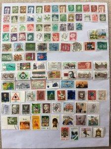 German 100+ stamps - Lot 7