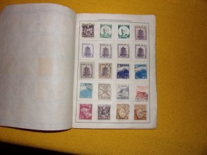 JAPAN COLLECTION IN ALBUM, MINT/USED