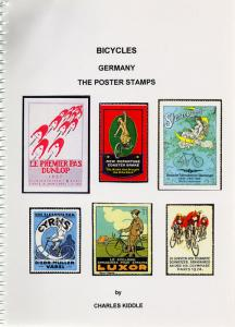 (I.B-CK) Cinderella Catalogue : Poster Stamps : Bicycles (Germany)