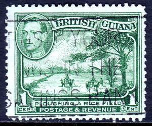 British Guiana - Scott #230 - Used - P12½ - SCV $0.25