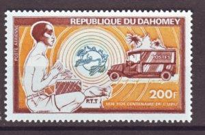 J22353 Jlstamps 1974 dahomey hv of set mnh #c224 truck