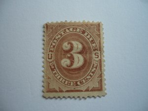 United States - Postage Due - 3 cents