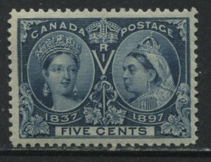 Canada QV Jubilee 5 cents VF mint o.g. lightly hinged