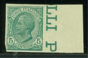 ITALY SCOTT# 94a MINT HINGED AS SHOWN