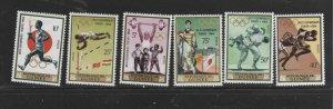 GUINEA #353-360  1964 16TH OLYNPIC GAMES      MINT  VF NH  O.G