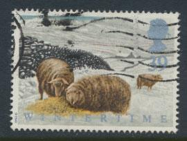 Great Britain SG 1591    Used  - Four Season Winter