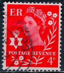 Great Britain, Northern Ireland; 1969: Sc. # 9: O/Used Single Stamp