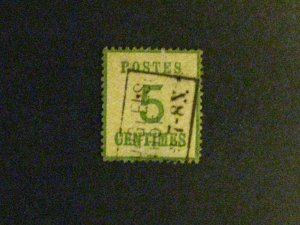 France/Alsace and Lorraine #N1 used thin a198.9254