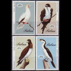 PALAU 1994 - Scott# 324a-d Large Seabirds Set of 4 NH