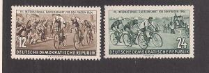 GERMANY - DDR SC# 208-9 VF MNH 1954