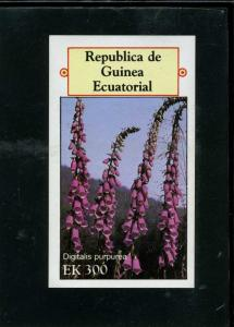 Equatorial Guinea 1977 MOUTAIN FLOWERS s/s Imperforated Mint (NH)