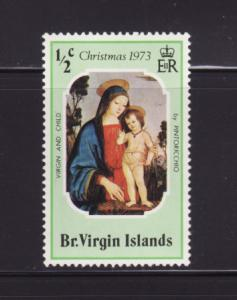 Virgin Islands 262 MH Christmas, Art, Paintings (B)