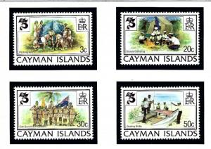 Cayman Is 490 93 MNH 1982 Boy Scouts
