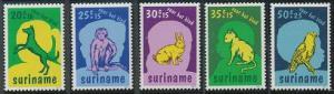 Surinam B241-B245 MNH (1977)