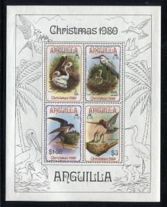 Anguilla 401a, MNH, Birds, Christmas 1980.  x29024