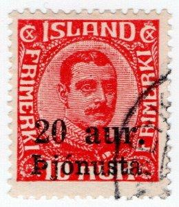 (I.B) Iceland Postal : Official 20au