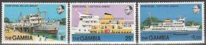 Gambia #385-7 MNH F-VF (V3610)
