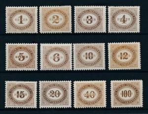 [55031] Austria Österreich 1900 Postage due MNH