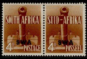 SOUTH WEST AFRICA GVI SG118, 4d orange-brown, M MINT. Cat £10.