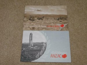 NEW ZEALAND-ANZAC, REMEMBRANCE & COMRADES IN ARMS, BOOKLETS, COMPLETE