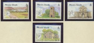 Pitcairn Islands Stamps Scott #332 To 335, Mint Lightly Hinged - Free U.S. Sh...