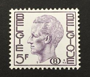 Belgium 1977-82 #o96, King Baudoin, MNH