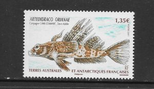 FISH - FRENCH SOUTHERN ANTARCTIC TERRITORIES #441  MNH