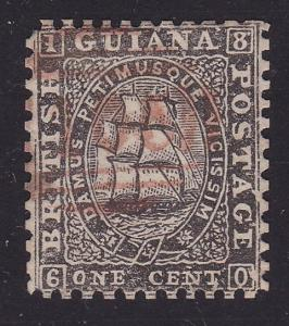 BR GUIANA An old forgery of a classic stamp.................................2289