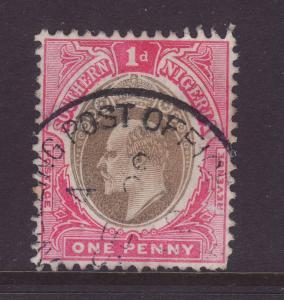 1904 Southern Nigeria 1d T P O Cancel