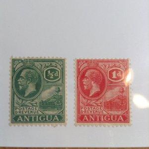 Antigua  # 42-43  MH
