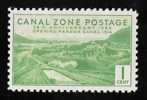 CANAL ZONE 120 1 cent 25th Anniversary Stamp Mint OG NH VF
