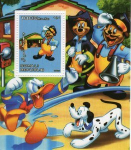 Somalia 2006 DISNEY CHARACTERS Mickey & Friends s/s Perforated Mint (NH)