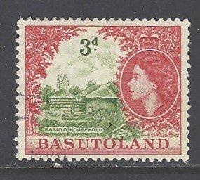 Basutoland Sc # 49 used (DT)