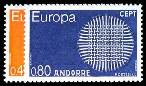 FRENCH ANDORRA 196-97  Mint (ID # 77324)
